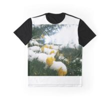 Snow flowers Graphic T-Shirt