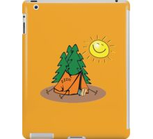 happy sleep camping iPad Case/Skin