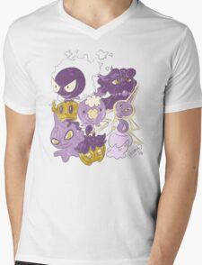 Ghost Babies by VIXTOPHER Mens V-Neck T-Shirt