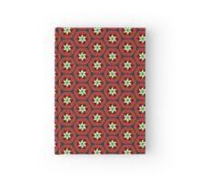 Pomegranate Retro Spiral Flowers Hardcover Journal