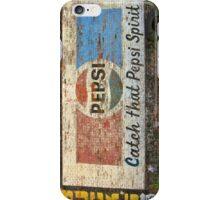 Pepsi wall iPhone Case/Skin