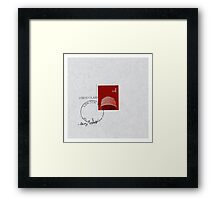 Konnichiwa  Framed Print
