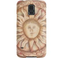 The Sun. stone symbols in the cloister. Jerónimos Monastery Samsung Galaxy Case/Skin