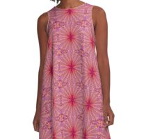 Hibiscus Star A-Line Dress