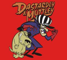 Dastardly & Muttley  One Piece - Short Sleeve