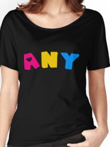 Any (Pansexual) Women's Relaxed Fit T-Shirt