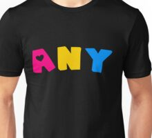 Any (Pansexual) Unisex T-Shirt