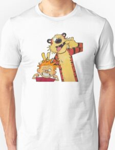 calvin and hobbes yucks Unisex T-Shirt