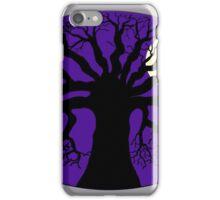 Tree Silhouette & Moon iPhone Case/Skin