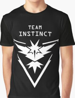 Team Instinct - Instinct - Pokemon Go Graphic T-Shirt