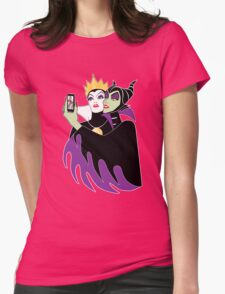 Wicked Selfie Womens Fitted T-Shirt