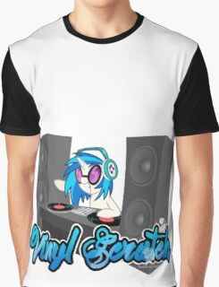 Vinyl Scratch Graphic T-Shirt