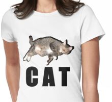 C A T Womens Fitted T-Shirt