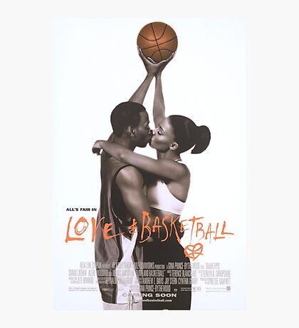 LOVE & BASKETBALL MOVIE POSTER Photographic Print