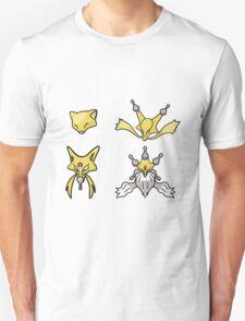 Abra's Evolution Unisex T-Shirt