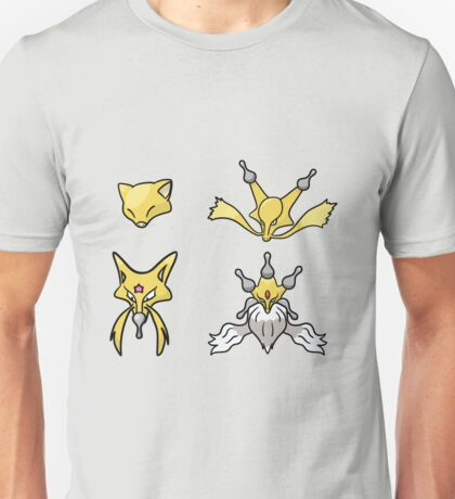 Abra's Evolution Unisex T-Shirt