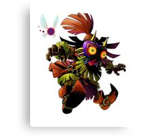 the legend of zelda 3d character Canvas Print