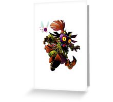 the legend of zelda 3d character Greeting Card