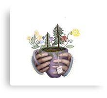 Blooming Tea Canvas Print