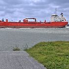 ...entering the Port of Rotterdam : Sten Skagen ! by John44