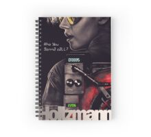 Who you gonna call? Holtzmann Spiral Notebook