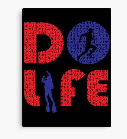 Do life sports Canvas Print