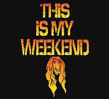 This Is My Weekend Afghan Hound Unisex T-Shirt