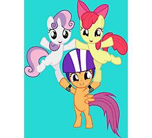 Ponyville Forever Photographic Print