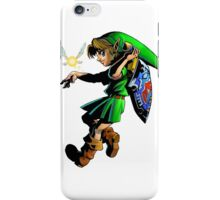 zelda majoras mask link iPhone Case/Skin
