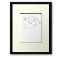 Rey figure Framed Print
