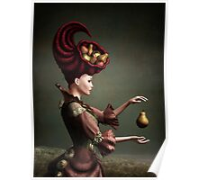 Madam Fruit and the levitating pear Poster