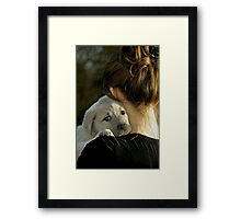 Welcome to the Family... Framed Print