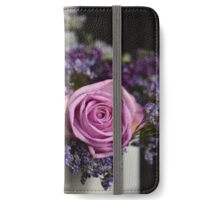 Purple Rose Closeup iPhone Wallet/Case/Skin
