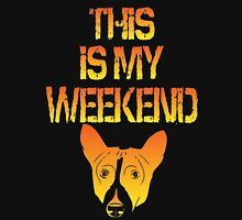 This Is My Weekend Basenji Unisex T-Shirt