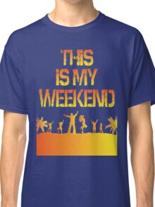 This Is My Weekend Beach Classic T-Shirt