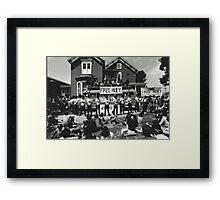 Black Panthers 1968 Framed Print