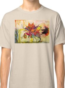 Flora and Froggy Escape Classic T-Shirt