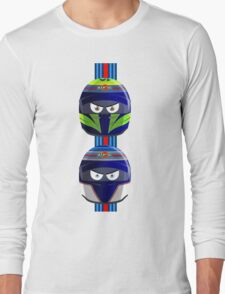 WILLIAMS_MASSA_BOTTAS_Helmets_2014 Long Sleeve T-Shirt