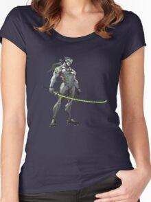 Genji Women's Fitted Scoop T-Shirt