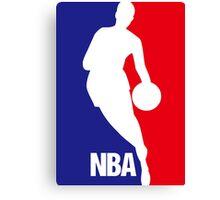 Nba Basketball Canvas Print