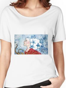 Snowflake Fairy Women's Relaxed Fit T-Shirt