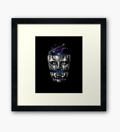destructured hero#6 Framed Print
