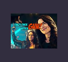 Wynonna Earp - crazy chick with a gun Unisex T-Shirt