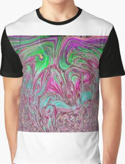 Psychedelic Bubbles Graphic T-Shirt