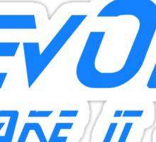 DevOps - Make it so. Sticker