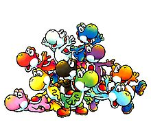 Yoshis ver. 2 by Lif3s