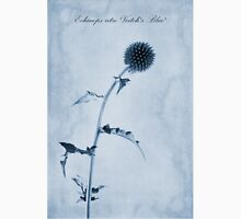 Echinops ritro 'Veitch's Blue' Cyanotype T-Shirt