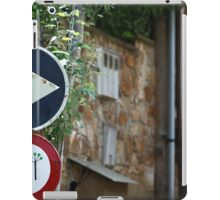 Bizarre Road signs  iPad Case/Skin