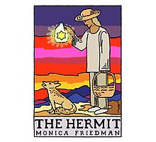 The Hermit and The Coyote Photographic Print