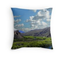 Paisaje cordillerano......Cruzando Chile - Argentina. Throw Pillow